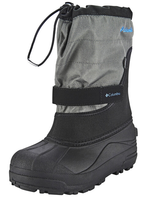 Columbia Powderbug Plus II Boots Kids, black / hyper blue